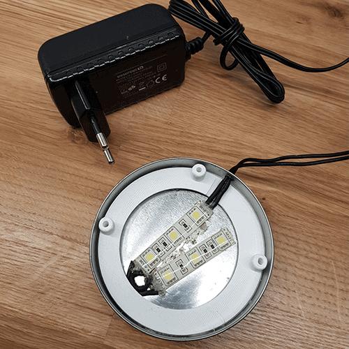 LED éclairage hydroponie potager 3D