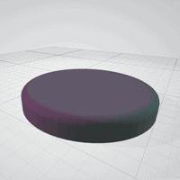 vue 3D STL potager 3D support LED
