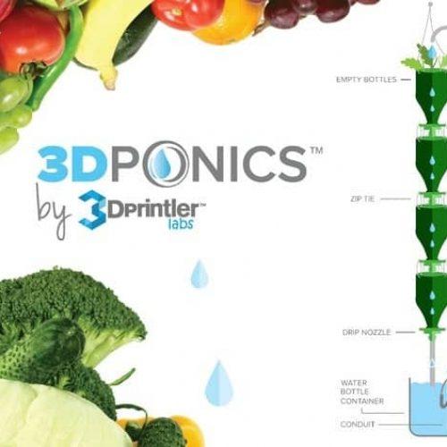 hydroponique et impression 3d