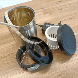 éléments requis pour construction potager 3D